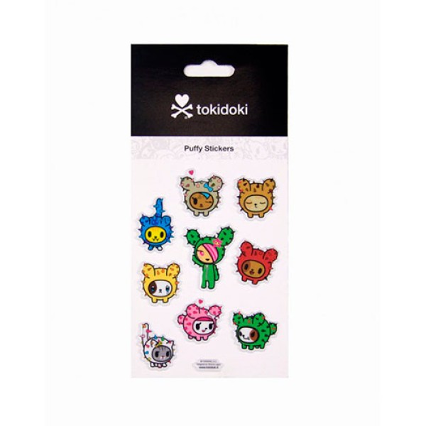 Tokidoki Cactus Puffy Stickers